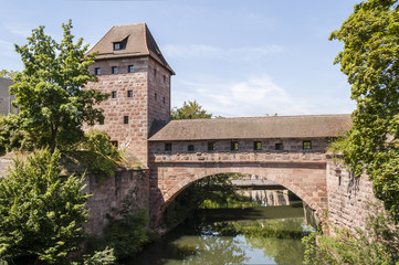 Nurnberg old bridge-landscape orientation