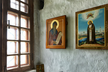 Russian Orthodox Icons.