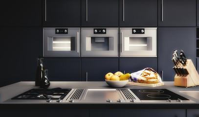 Visualisierung einer Küchenplanung - 3D render