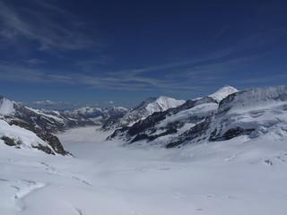 Glacier from Jungfraujoch