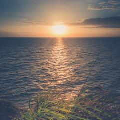 Sunset seascape, At Samed island,THAILAND