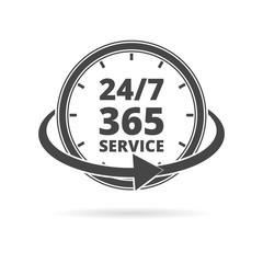 Open 24/7 - 365, 24/7 365