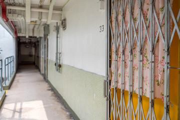 Hong Kong Estate Corridor