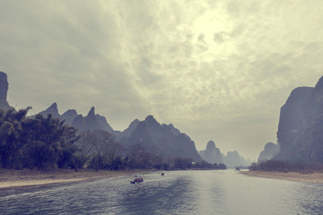 Lijiang River in Guilin, China