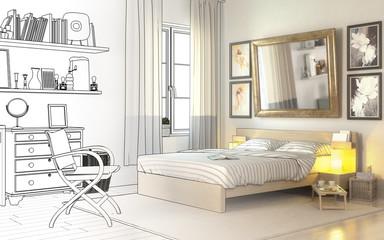 Im Schlafzimmer (Entwurf)