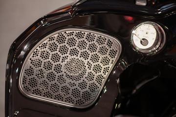 Fuel gauge and speaker