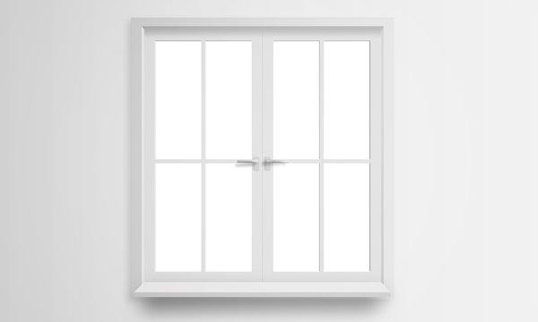 Modern window isolated