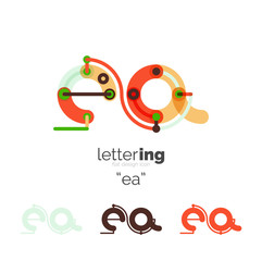 Letters logo icon