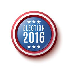 Presidential Election 2016 button.