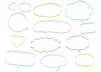 speech bubble natural