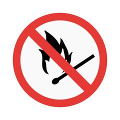 Attention sign vector illustration