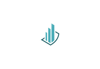 business finance building company logo