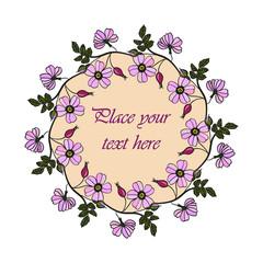 Lilac eglantine frame.