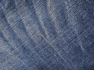 Jeans fabric plain surface background, denim textile texture