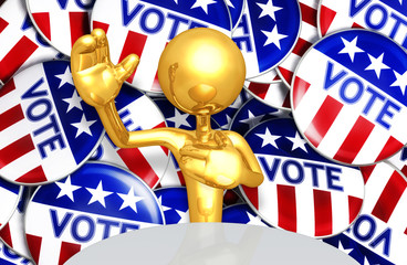 United States Of America U.S. Election Concept