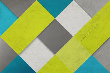 Abstract Colorful Background With Square Frames Vector Geometric Fashion Wallpaper Template Material