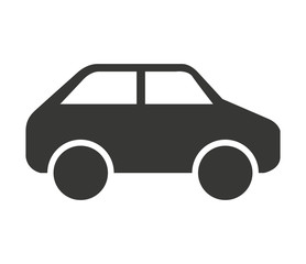 Poster de jardin Cartoon voitures car vehicle isolated icon design
