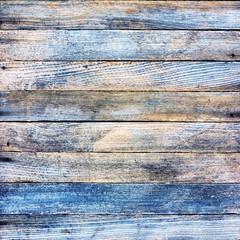 background texture of an old wooden barn boards with retro toning. square photo