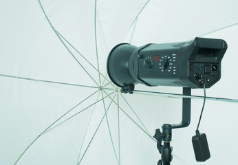Fotostudio Blitzanlage