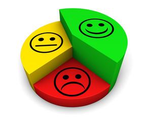 Customer Experience Business Pie Chart