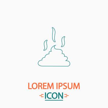 Poop computer symbol