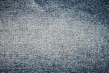 Texture of blue denim jean, background