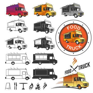 Food truck emblems