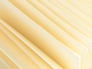 Abstract background clean yellow sheets album