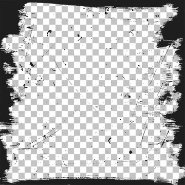Grunge border template