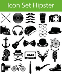 Icon Set Hipster