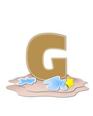 Alphabet Ocean Swimming Plain G