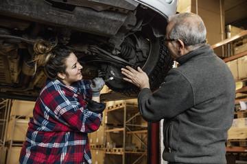Sweden, Mechanics adjusting wheel
