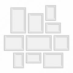 White frame big set