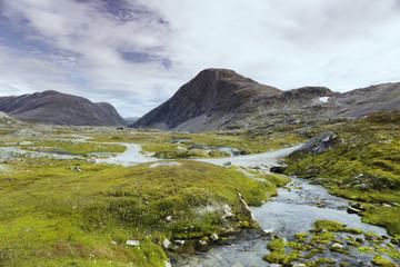 Norway, More og Romsdal, Sunnmore, Scenic view of landscape