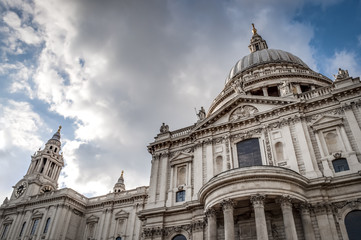 St. Paul Cathedral in London, England, United Kingdom