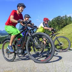 locker-leichte Radtour mit dem E-Bike