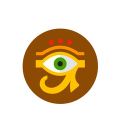 Eye of Ra or Horus Icon