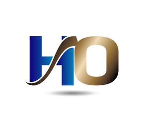 Unusual H and O Business logo template io logo icon