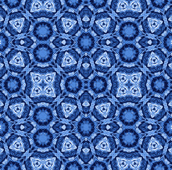 tie dye, shibori seamless pattern