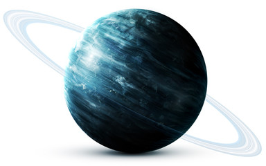 Wall Mural - Uranus - High resolution 3D images presents planets of the solar system. This image elements furnished by NASA