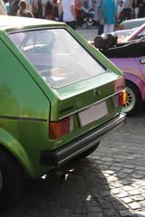Autoausstellung Golf 1