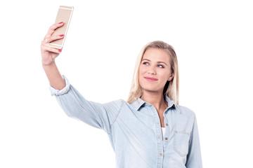 Let's take a selfie!