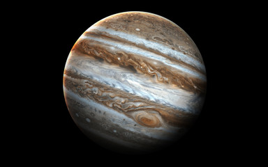 Wall Mural - Jupiter - High resolution 3D images presents planets of the solar system. This image elements furnished by NASA