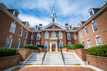 Wall Mural - The Delaware State Capitol Building in Dover, Delaware.