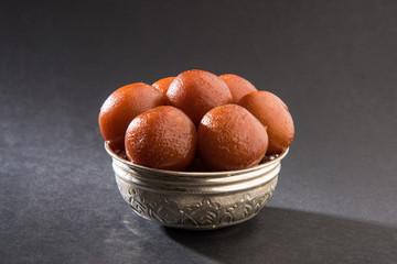 Gulab jamun, famous indian sweet