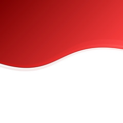 Red and White Blank Abstract Background. Vector
