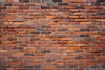 alte Ziegelsteinmauer Wand Hintergrund