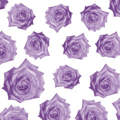 pattern Flower, rose flower print in soft colors made from fabri