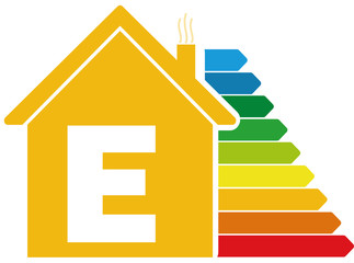 Energieeffizienzklasse B Haus Buy This Stock Vector And Explore