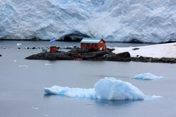 Antarktis Forschungsstation Almirante Brown